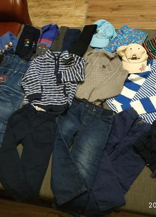 Пакет фірмового одягу для хлопчика 3-4 років 104 розмір