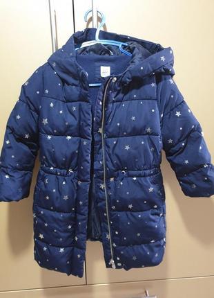 Пуховое пальто для принцессы