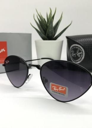 Солнцезащитные очки rayban rb662 чёрные