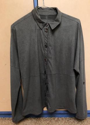 Сорочка ,велюр,блуза,рубашка,велюрова сорочка