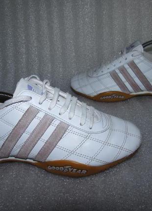Кроссовки натуральная кожа~adidas ~оригинал 36 р , 22,5 см