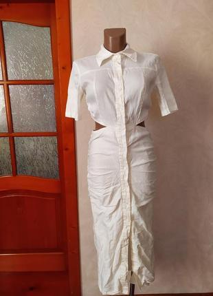 Плаття - рубашка - zara