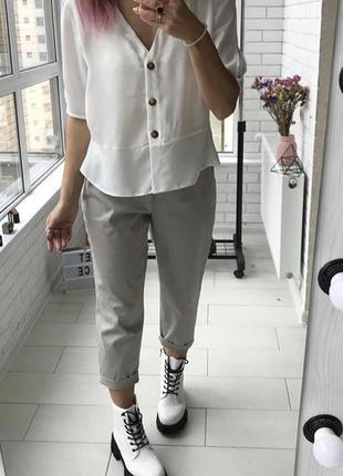 Котоновые брюки от m&s размер 14