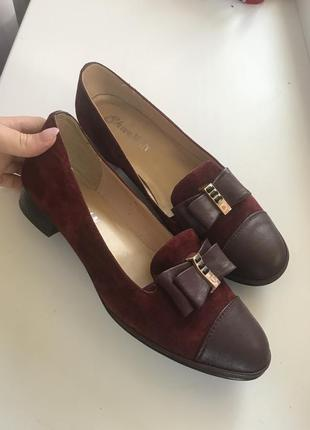 Замшевые туфли sharman