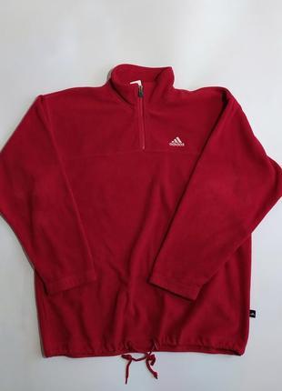 Кофта adidas флис свитер vintage