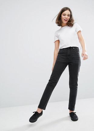 Mom jeans джинсы бойфренды с высокой пасадкой, герлфренды  guess оригинал
