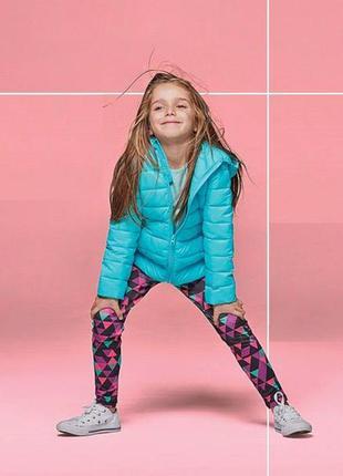 Комплект детский демисезонный куртка с капюшоном + жилет утепленный dunnes