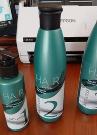 Набір від випадения волосся, (крок 1+2+3),джерелія