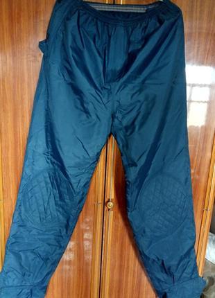 Теплые не промокаемые водоотталкивающие штаны, размер l,xl