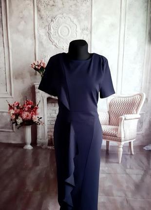 Стильное модное платье миди