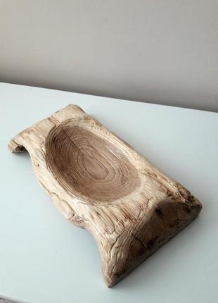 Дерев'яна ваза