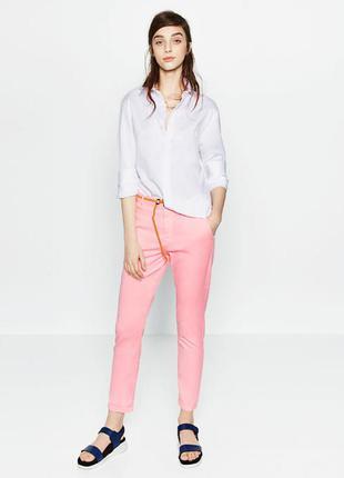 Zara нові стильні коттонові брюки размер 38 заходите на страничку