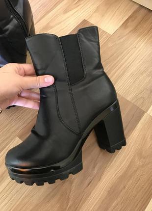 Зимние ботиночки на меху