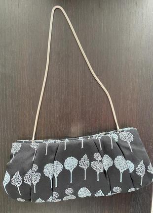 Coast шовк шелк клатч сумка сумочка багет