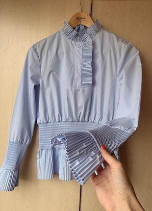 Очень нежная стильная блуза из свежих коллекций hm