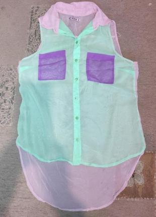 Женска блузка,удлиненная
