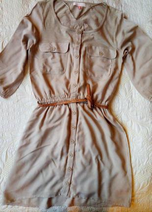 Удобное легкое платье