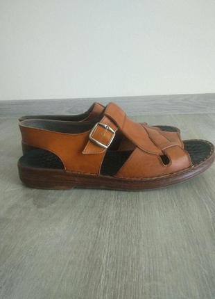 Сандалии rieker мужские кожа босоножки босоніжки сандалі чоловічі 44