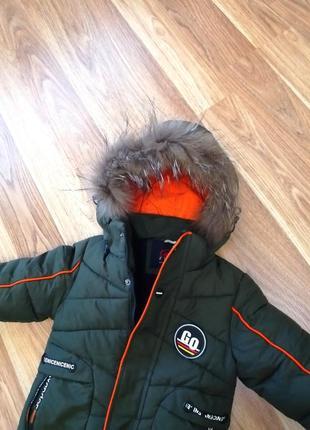 Зимняя куртка на мальчика 5 лет