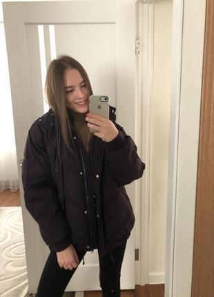 Куртка на синтепоне зимняя !