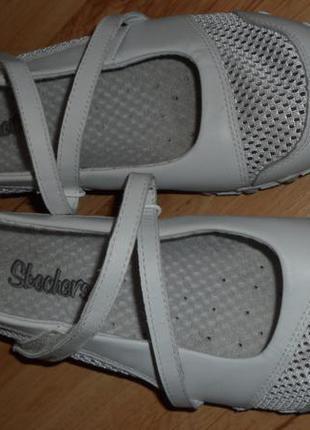 Туфли-мокасины skechers, размер 37