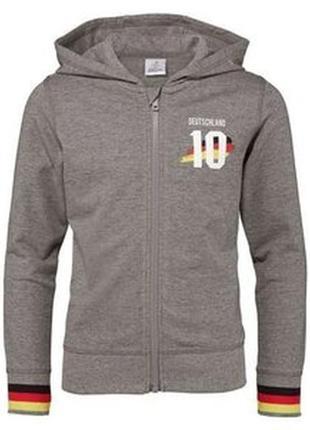 Спортивная кофта на 8-10 лет пр-во германия супер качество мастерка капюшон куртка