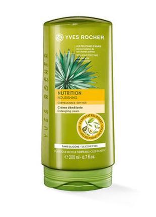 Бальзам-крем для волос питание и шелковистость ив роше 200 мл yves rosher