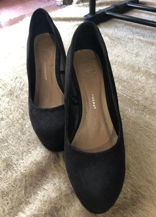 Замшевые туфли atmosphere