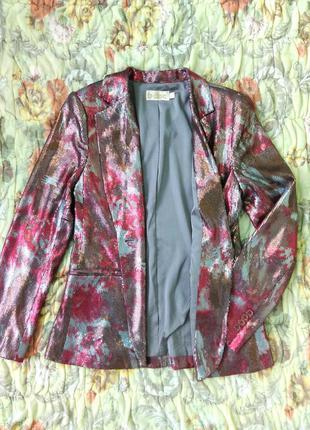 Блейзер, пиджак в пайетках, m, испания