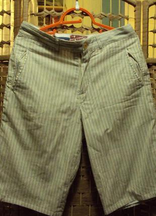 Классные летние длинные шорты (состояние новых) фирмы elwood