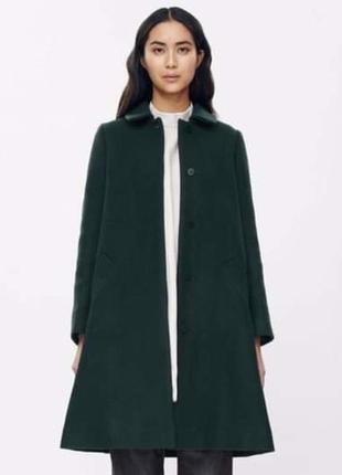 Cos пальто шерсть, зимние, coat