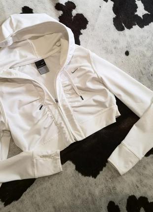 Короткая худи кофта с капюшоном nike xs-s (34-36)