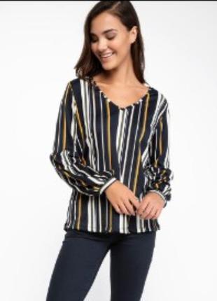 Блузка блузон блуза в полоску primark