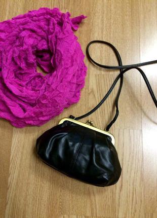 Крутая фирменная сумка-кошелек h&m,сумочка кросс-боди+подарок ремешок