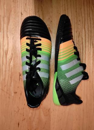Футбольные кроссовки футзалки adidas оригинал 35р. 22 см состояние новых
