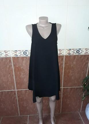 Платье свинг креповое