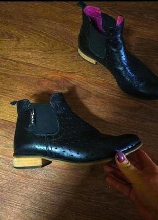 ❤️шикарные ботинки челси натуральная кожа