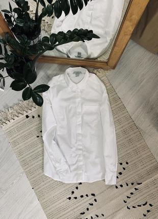 Біла рубашка від h&m🌿