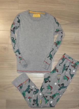 Пижама трикотажная на 9-10лет рост 140