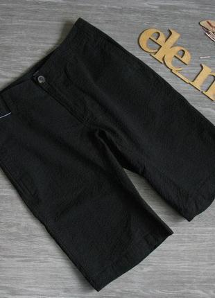 Текстурные черные шорты kiabi eur 36/ 38 нюанс