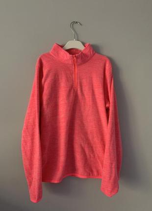 Флисовый пуловер
