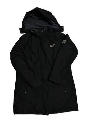 Зимняя куртка парка jack wolfskin