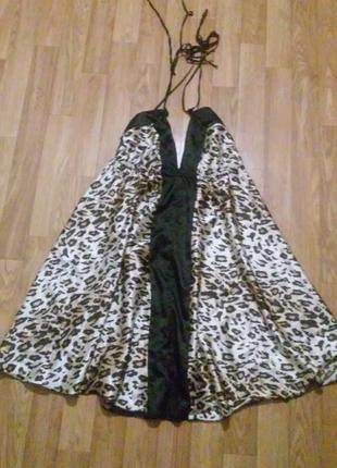 Сарафан платье с открытой спинкой