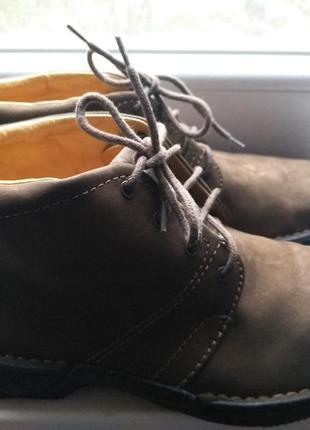 Мужские демисезонные ботинки clarks полностью кожа 42 р. 28 см