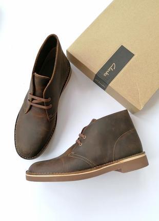 Новые ботинки дезерты clarks - bushacre 2
