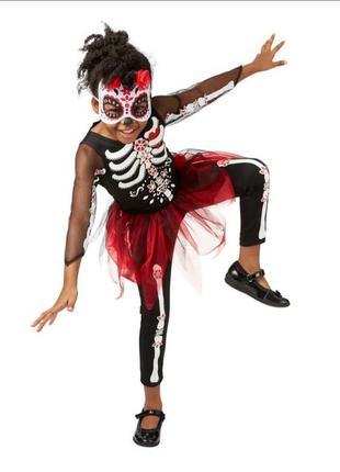 Детский костюм на хеллоуин # костюм скилет # george