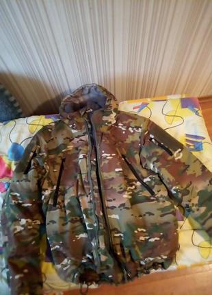 Тактическая куртка зимняя