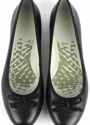 Туфли балетки из натуральной кожи