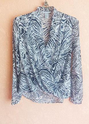1+1=3 легкая блуза на подкладке