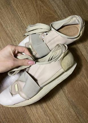 Натуральные кроссовки balenciaga